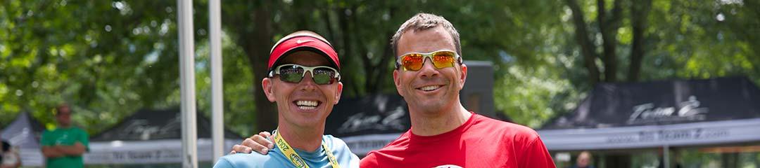 dave and david luray triathlon