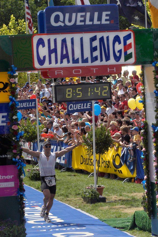 David Glover at Challenge Roth
