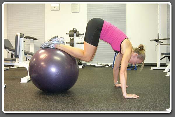 krista schultz exercise ball