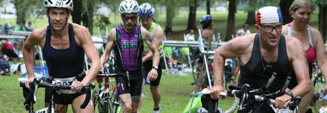 luray triathlon transition area