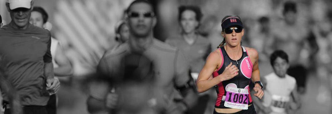 Krista Schultz winner of Galesburg Half Marathon 2014