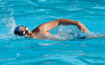 Try One of Our Favorite Swim Workouts in the Pool