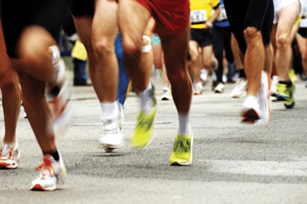 fast triathlon runners off season