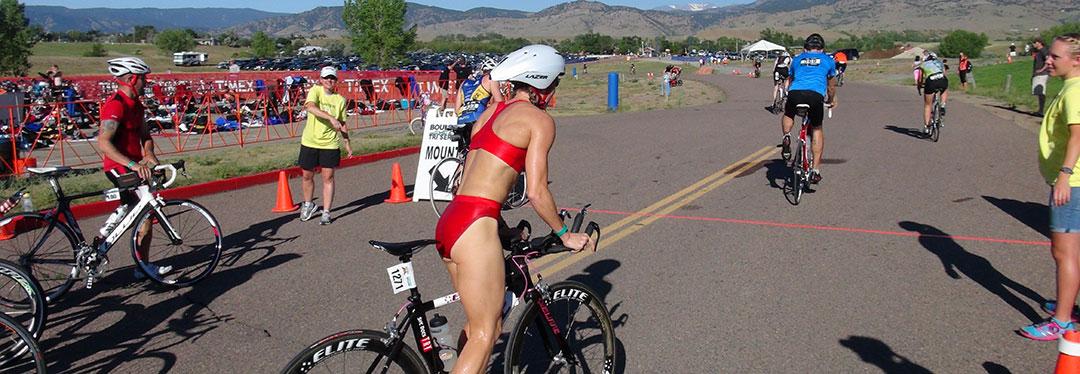 krista schultz swim to bike transition
