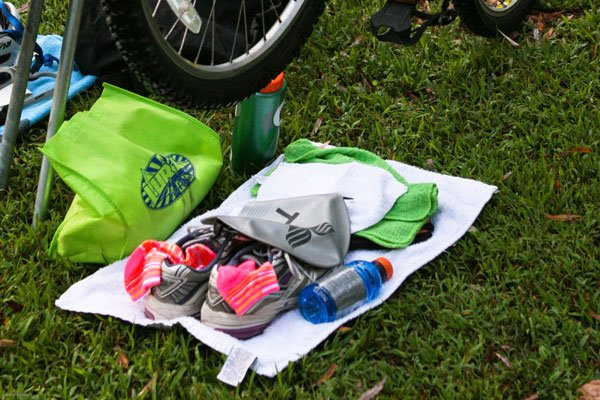 How to Set Up Your Triathlon Transition Area