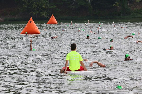 How to Sight Buoys in a Triathlon Open Water Swim