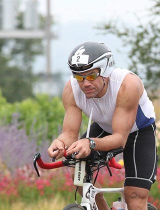 enduranceworks ironman boulder cyclist