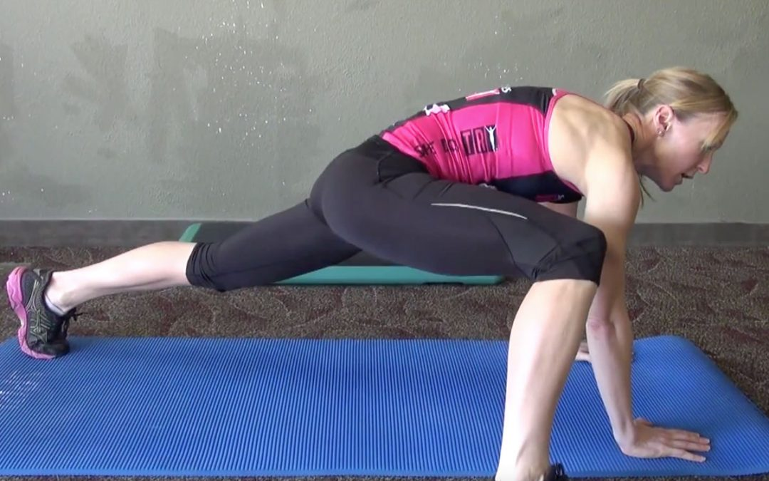 Krista Schultz Demonstrates the Mountain Climber Exercise