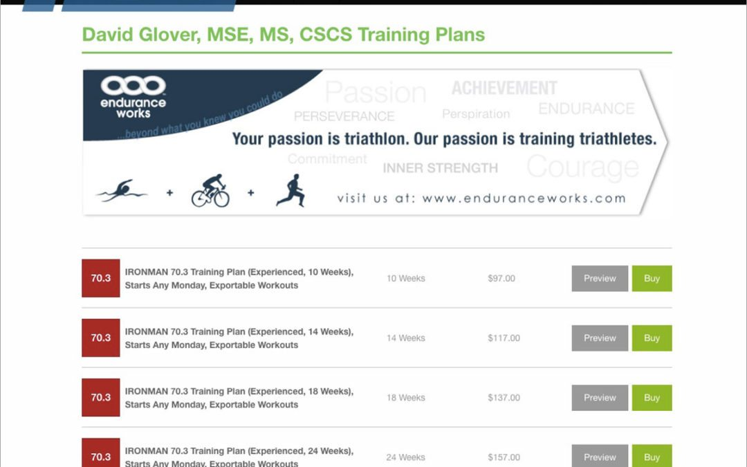 Introducing Training Plans for IRONMAN 70.3 Triathlon® with Exportable Workout Files