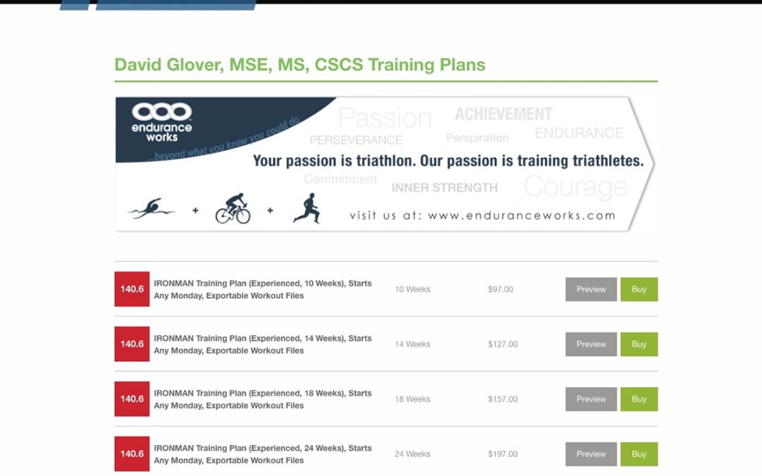 Introducing Training Plans for IRONMAN Triathlon® with Exportable Workout Files
