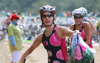 The Deal with Transitions and Special Needs Bags in IRONMAN® Triathlons