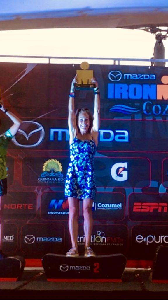 carlene podium winner