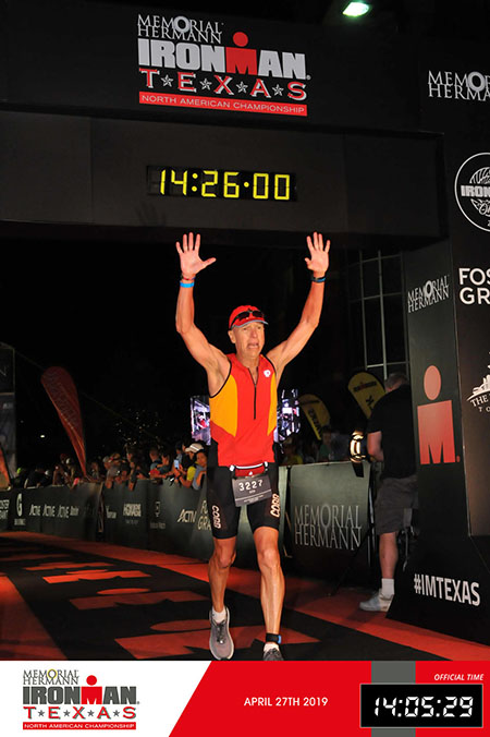 bob koenig ironman finish
