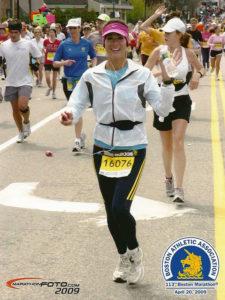 sarah lucero boston marathon